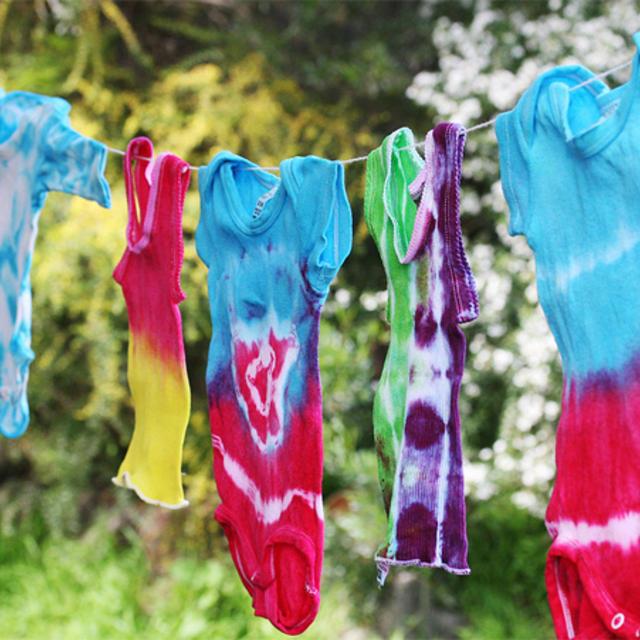 how to make a tye dye t shirt